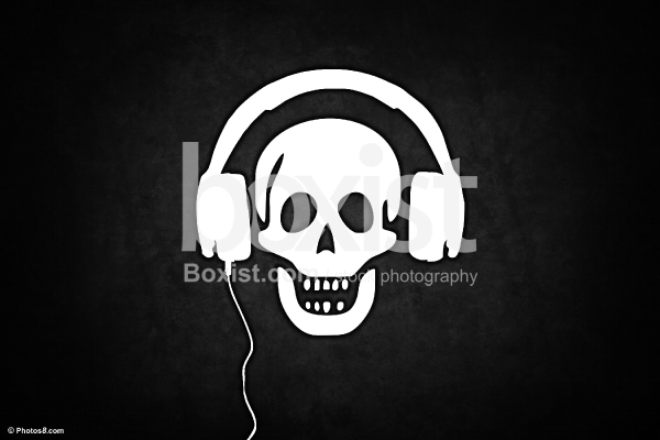 Music Pirate with Headphones
