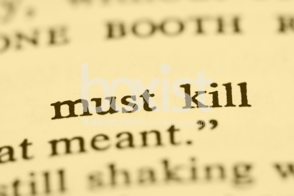 Must Kill Printed