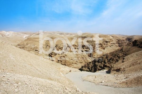 Wadi Qelt in the Judean Desert