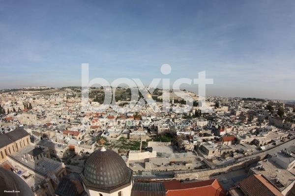 View over Jerusalem Old City