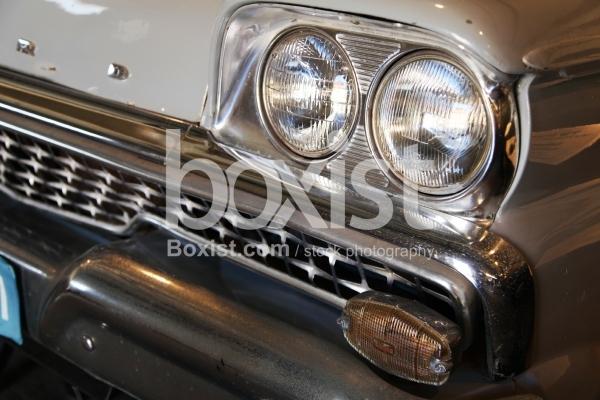 Vintage Classic Car Headlights
