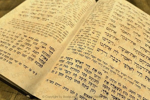 Vintage Hebrew Scroll