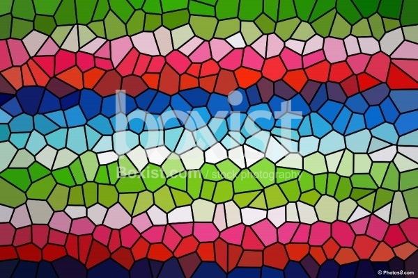Vivid Colors Stained Glass