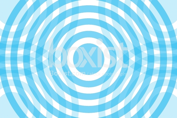 Blue Concentric Circles