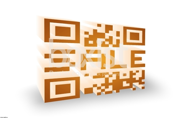 3D for Item Sale in QR Code