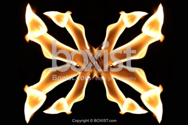Cross Fire Flames