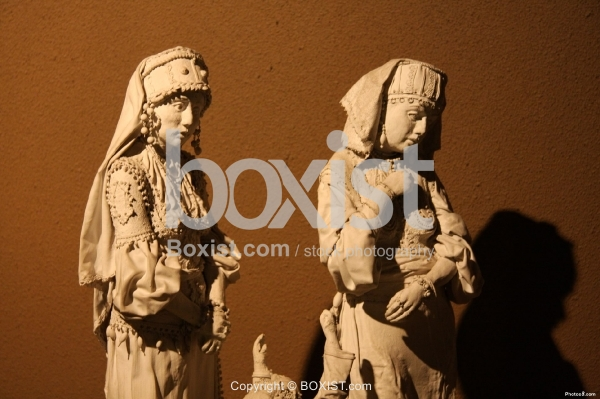 Jewish Family Statues