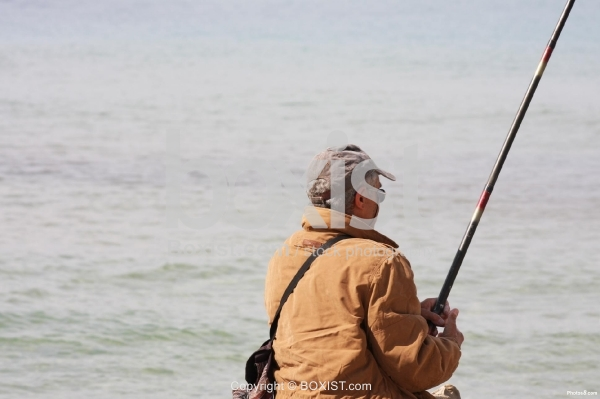 Fisherman Day at the Sea